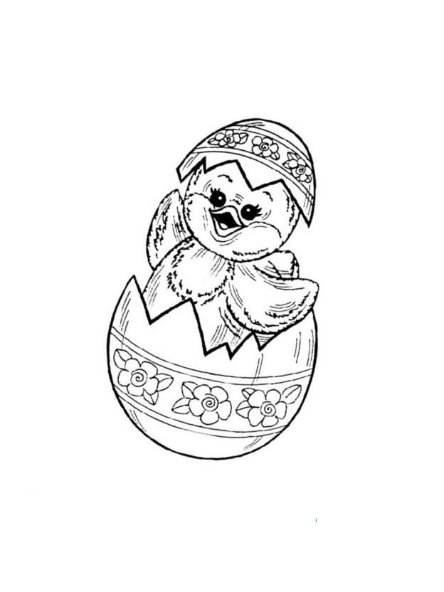 ausmalbild zu ostern küken und eier 13  märchen aus aller
