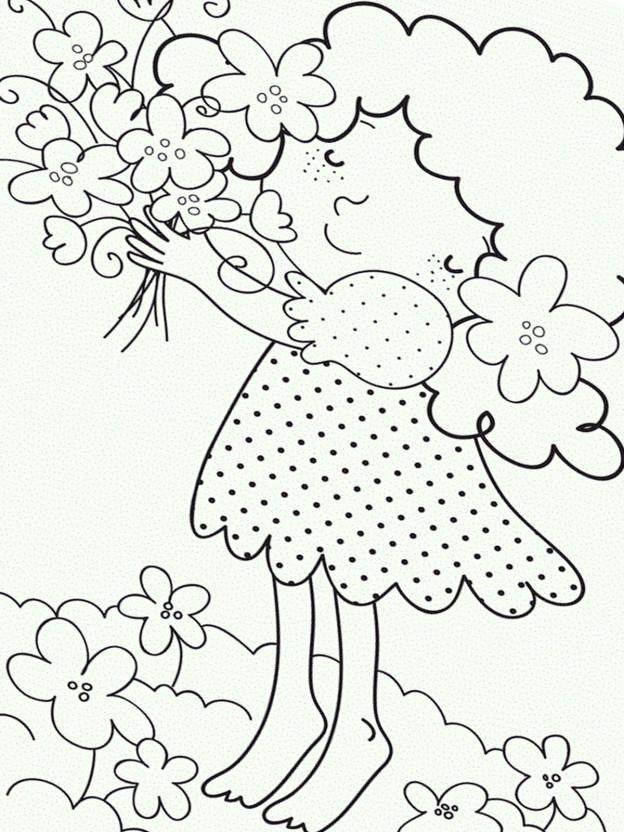 ausmalbild frühling 27 zum ausdrucken  märchen aus aller