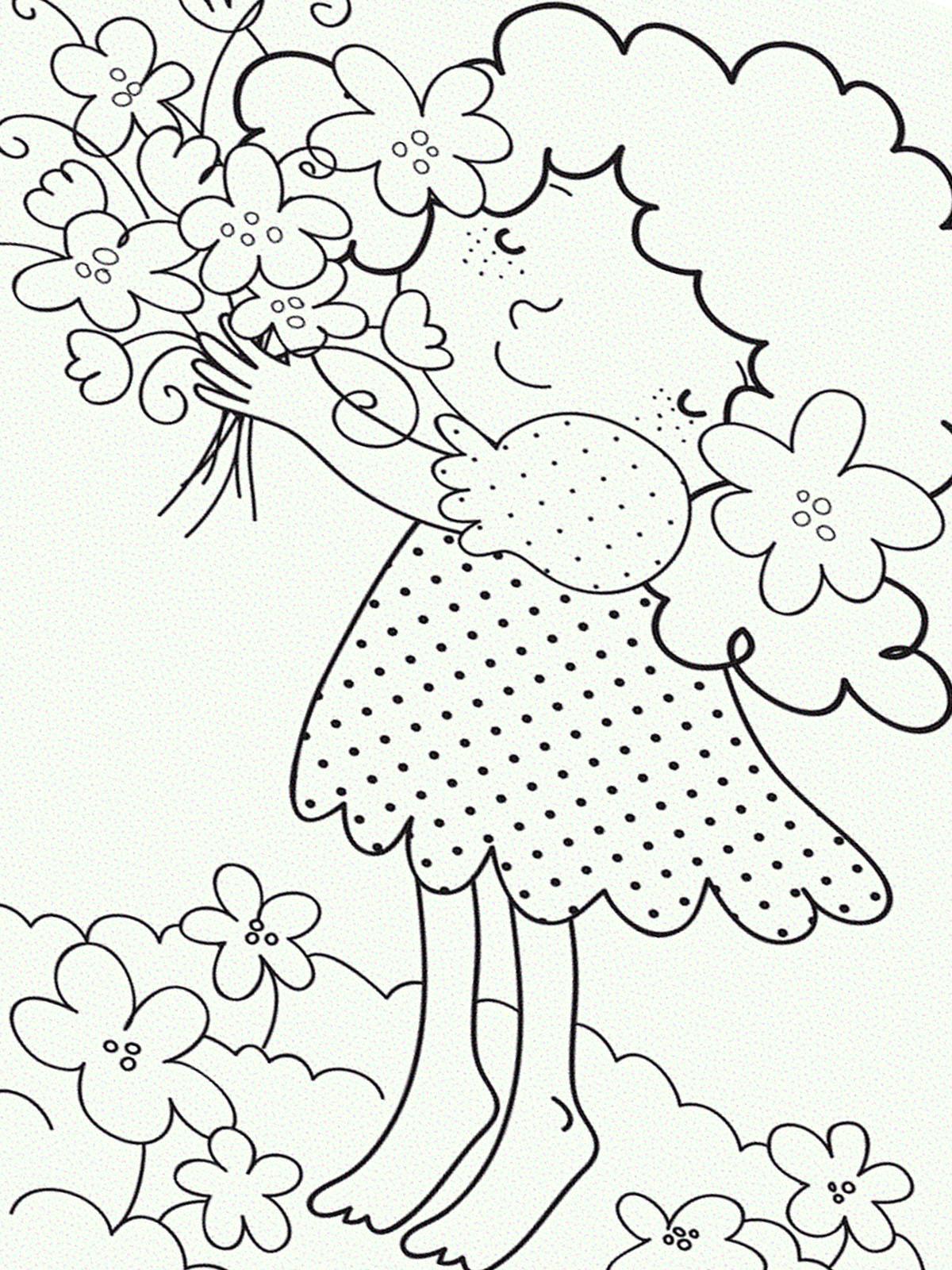 Ausmalbild Frühling 27 zum Ausdrucken | Märchen aus aller Welt, der ...