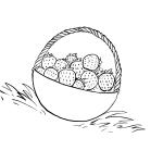 Ausmalbilder Erdbeere 2 kostenlos