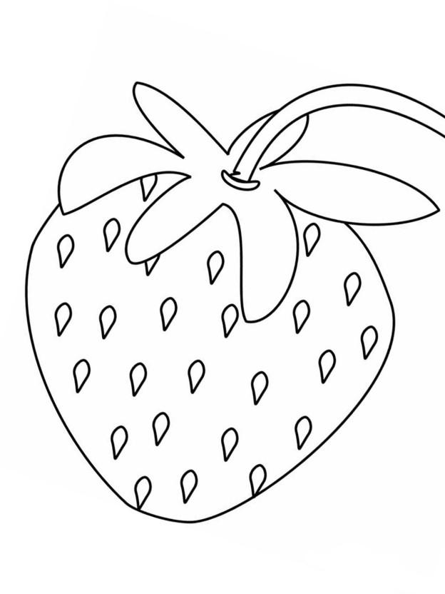 ausmalbilder erdbeere 7 kostenlos  märchen aus aller welt