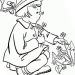 Ausmalbilder Frühling 6 kostenlos