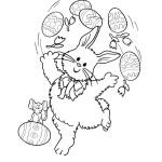 Ausmalbilder Frohe Ostern 8