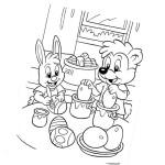 Ausmalbilder Frohe Ostern 9