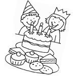 Ausmalbilder Geburtstag 10 kostenlos