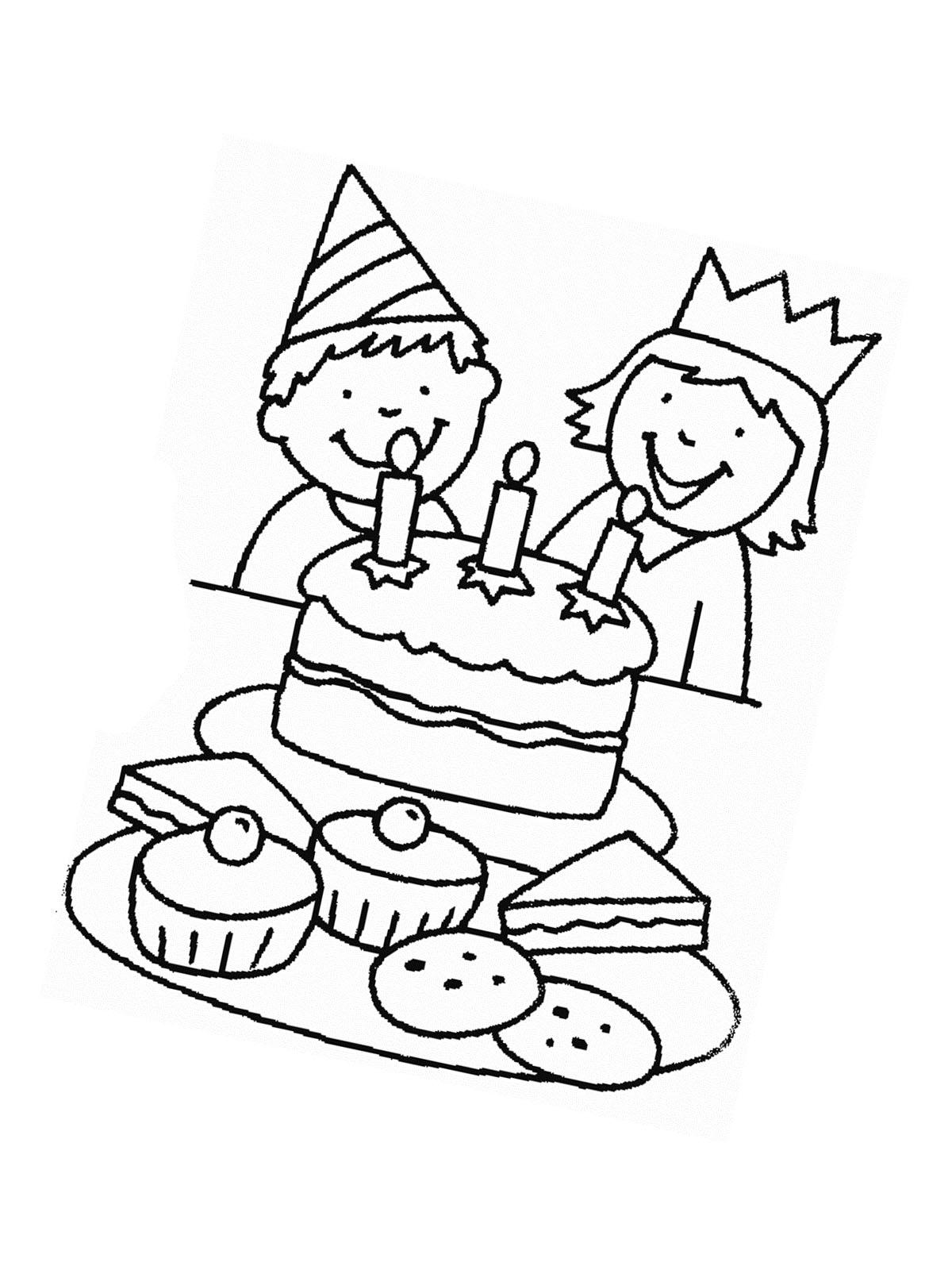 Ausmalbilder Geburtstag Und Party Kostenlose Malvorlagen