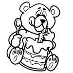 Ausmalbilder Geburtstag 7 kostenlos