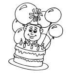Ausmalbilder Geburtstag 8 kostenlos