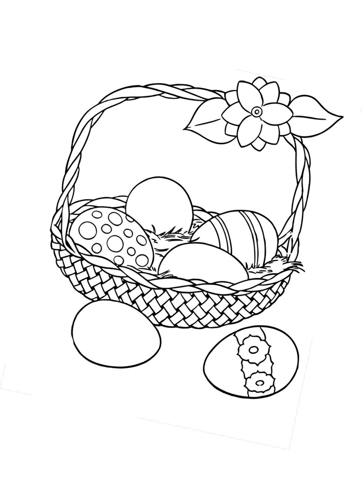 Ausmalbilder, Malvorlagen von Ostern kostenlos zum Ausdrucken ...