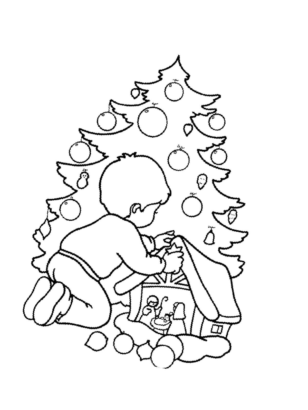 ausmalbilder malvorlagen von weihnachten kostenlos zum. Black Bedroom Furniture Sets. Home Design Ideas
