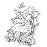 Ausmalbilder kostenlos für Ostern 39