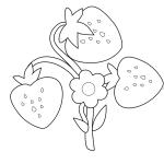 Malvorlage Erdbeere 26 zum Ausdrucken