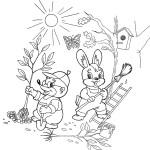 Malvorlage Frühling 42 zum Ausdrucken