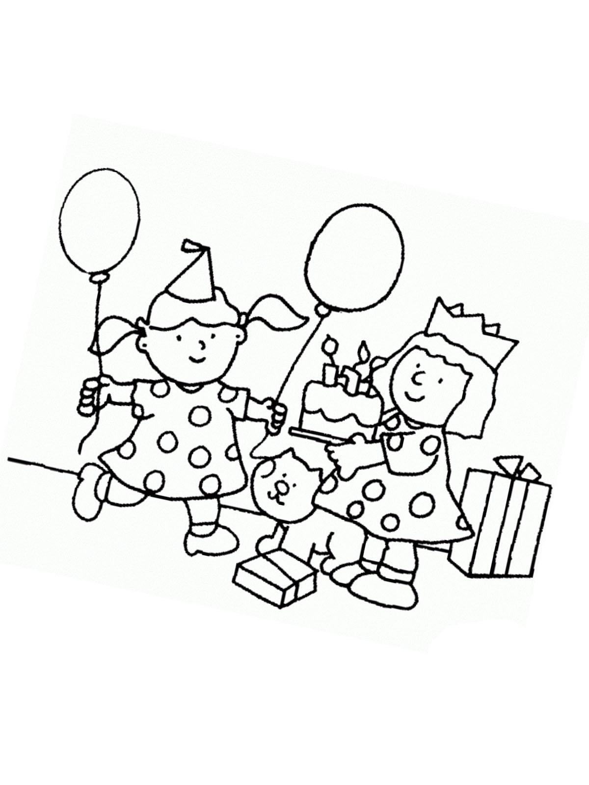 Malvorlagen Zum Geburtstag Die Beste Idee Zum Ausmalen Von Seiten
