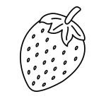 Malvorlagen Erdbeere 20 kostenlos