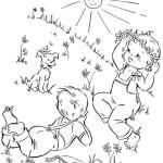 Malvorlagen Frühling 16 kostenlos