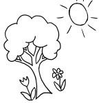 Malvorlagen Frühling 18 kostenlos