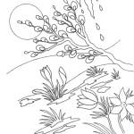 Malvorlagen Frühling 19 kostenlos
