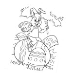 Malvorlagen Frohe Ostern 54