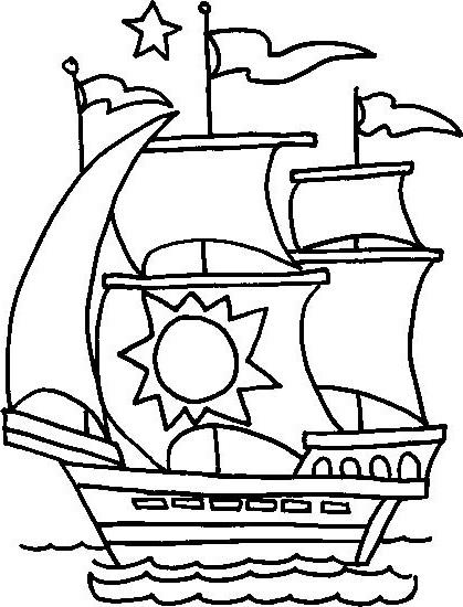 ausmalbilder malvorlagen  schiffe kostenlos zum