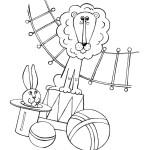 Akrobaten im Zirkus 1