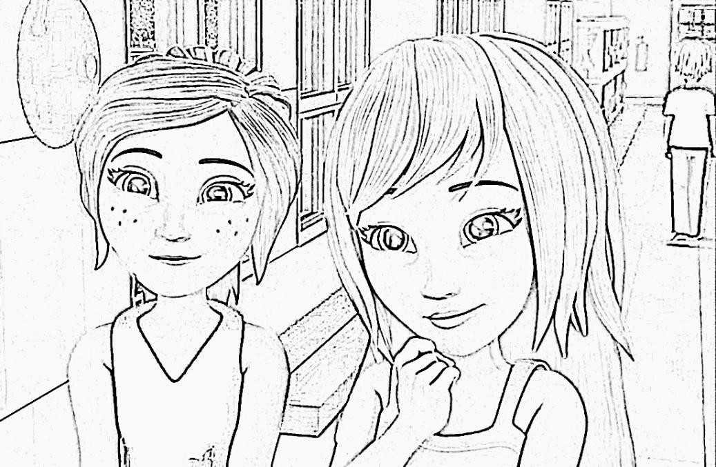 schöne malvorlagen ausmalbilder lego friends ausdrucken 1