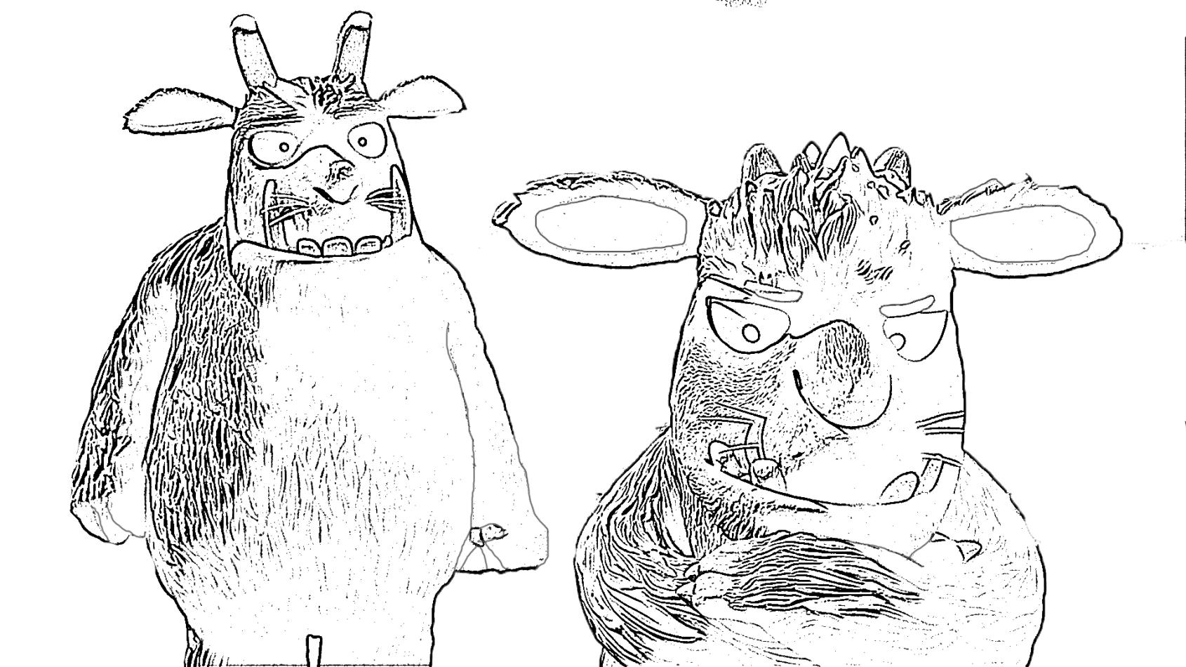 ausmalbilder malvorlagen von grüffelo kostenlos zum