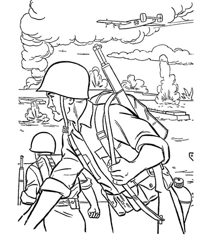 Ausmalbilder, Malvorlagen – Armee kostenlos zum Ausdrucken | Märchen ...