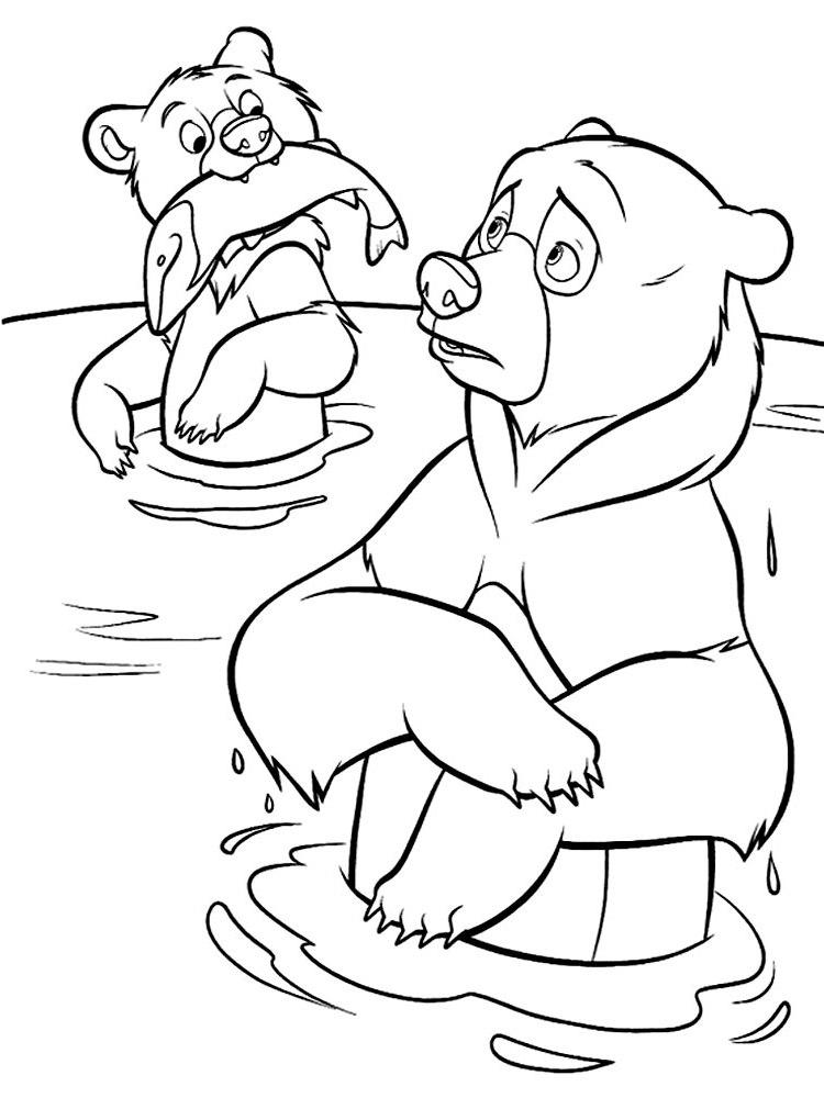 ausmalbilder, malvorlagen von bärenbrüder kostenlos zum