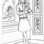 Ausmalbilder Malvorlagen Von Barbie Haus Kostenlos Zum