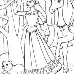Ausmalbilder, Malvorlagen von Barbie und der geheimnisvolle ...