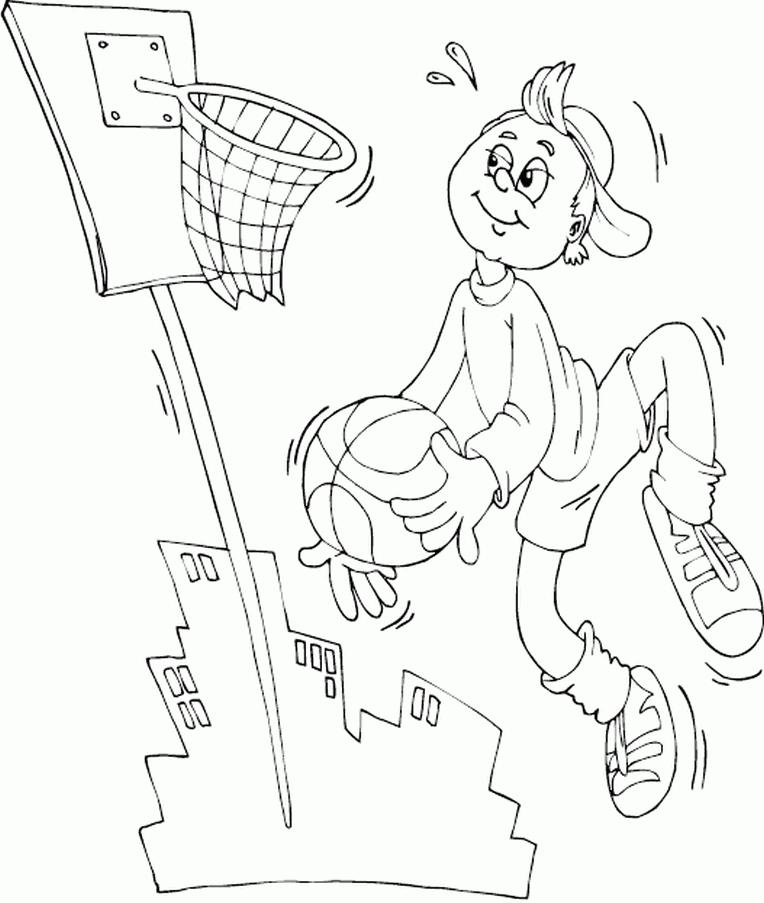ausmalbilder malvorlagen  basketball kostenlos zum