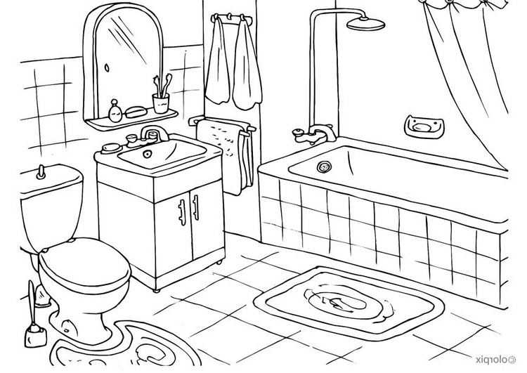 Salon Coloring Pages