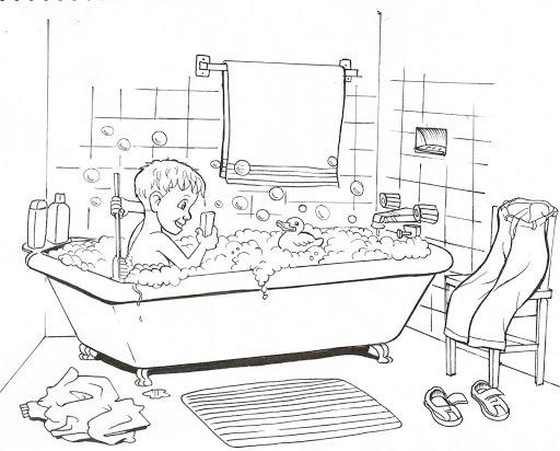 badezimmer bilder zum ausdrucken