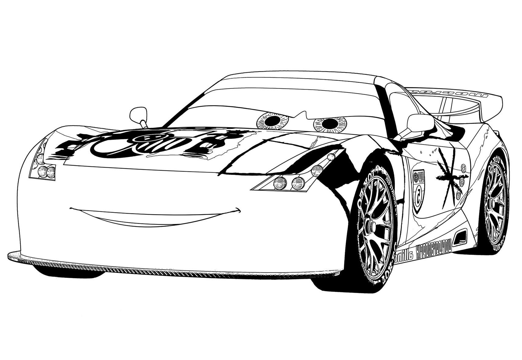 Gratis Malvorlagen Cars Zum Ausdrucken | My blog