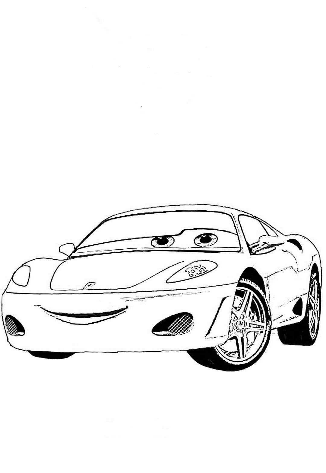 ausmalbilder malvorlagen von cars kostenlos zum