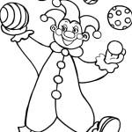 ausmalbilder, malvorlagen - clown kostenlos zum ausdrucken
