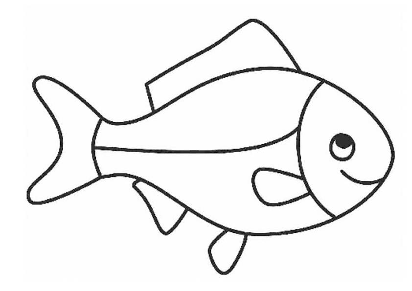 Ausmalbilder, Malvorlagen – Fisch kostenlos zum Ausdrucken | Märchen ...