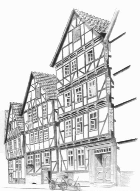 Ausmalbilder malvorlagen fachwerkhaus kostenlos zum for Fachwerkhaus zum abbauen