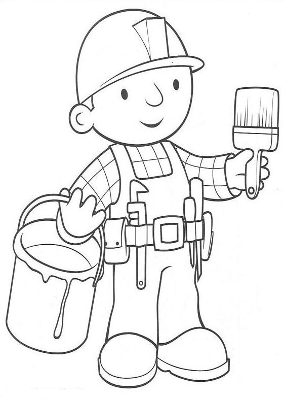 Handwerker ausmalbilder  Ausmalbilder, Malvorlagen – Handwerker kostenlos zum Ausdrucken ...