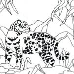 ausmalbilder, malvorlagen - jaguar kostenlos zum
