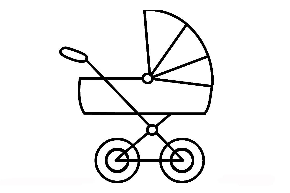 Malvorlagen Für Kinderwagen  Coloring and Malvorlagan