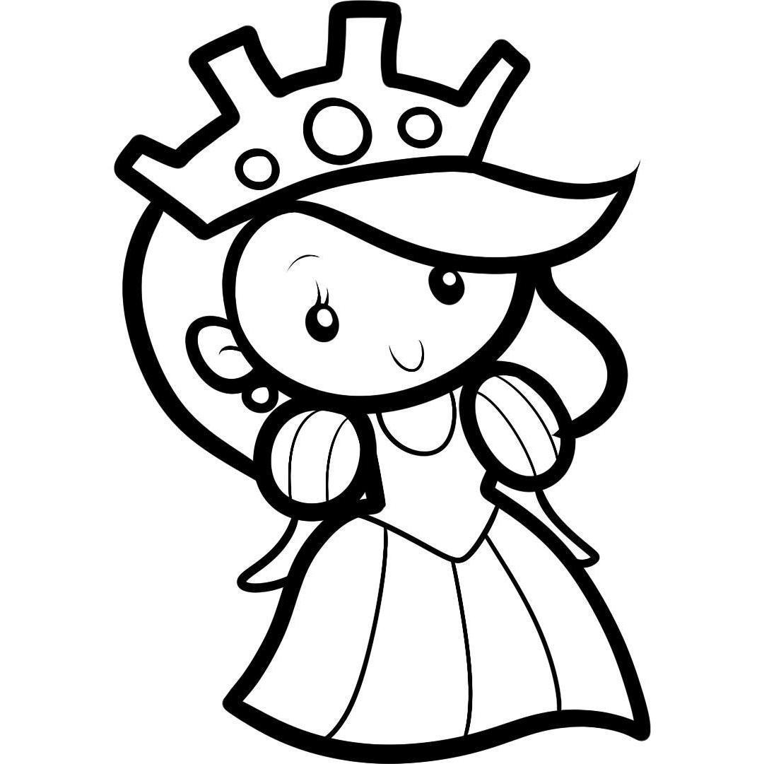 ausmalbilder malvorlagen  königin kostenlos zum