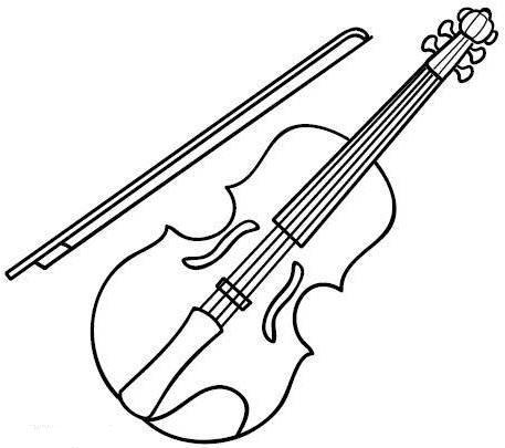 Ausmalbilder Malvorlagen Musikinstrumente Kostenlos Zum