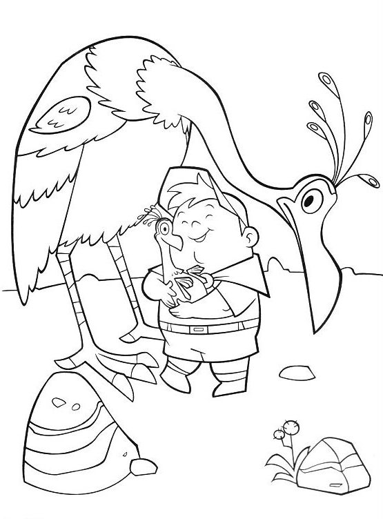 up kevin coloring pages - photo#8