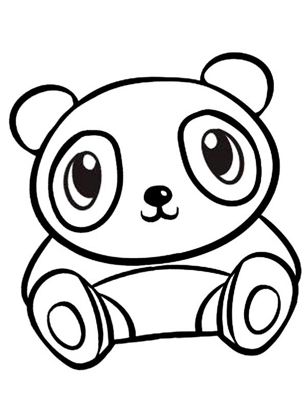 ausmalbilder malvorlagen  panda kostenlos zum ausdrucken