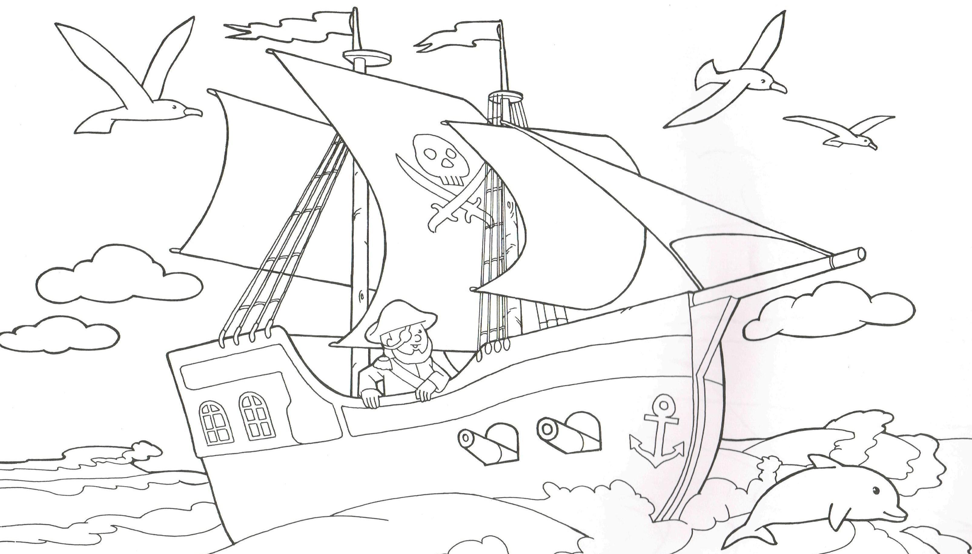 Elegant Ausmalbilder Kostenlos Piraten