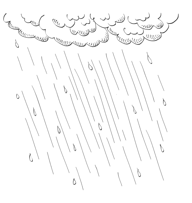 ausmalbilder malvorlagen  regen kostenlos zum ausdrucken