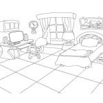 Beim Ausmalen Trainieren Kinder Gut Die Handmotorik Hier Konnen Sie Ausmalbilder Schlafzimmer Kostenlos Ausdrucken Malvorlagen Fur