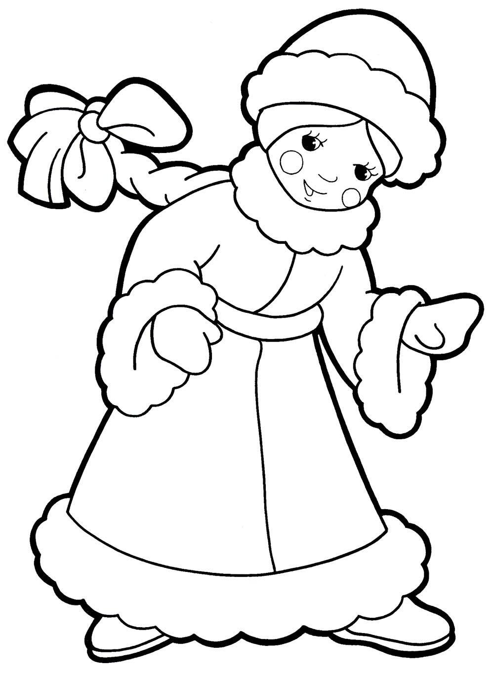 Ausmalbilder, Malvorlagen von Schneewittchen kostenlos zum ...